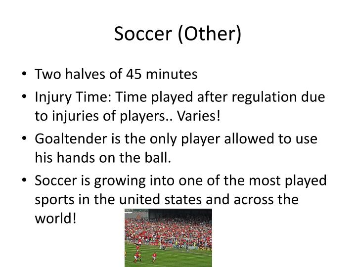 Soccer (Other)