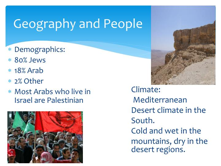Geography and People