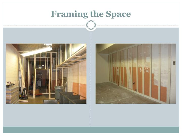 Framing the Space