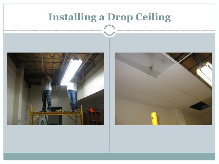 Installing a Drop Ceiling