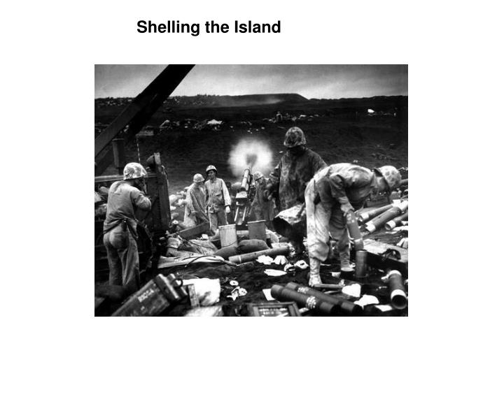 Shelling the Island