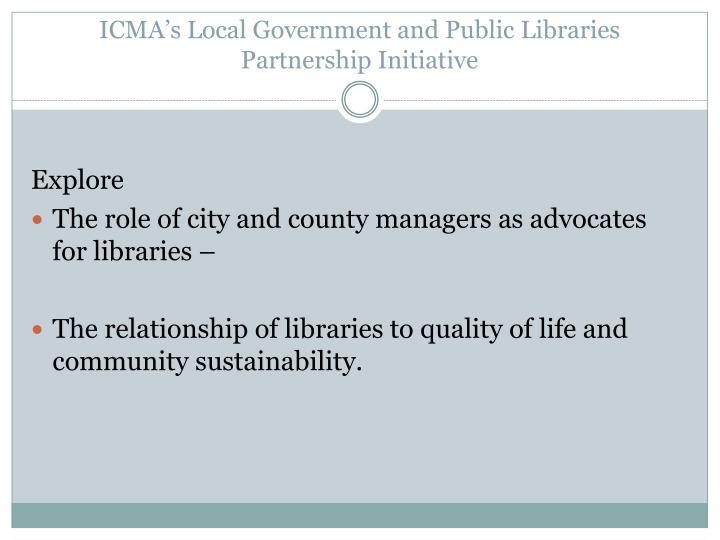 ICMA's