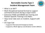 barnstable county type 3 incident management team