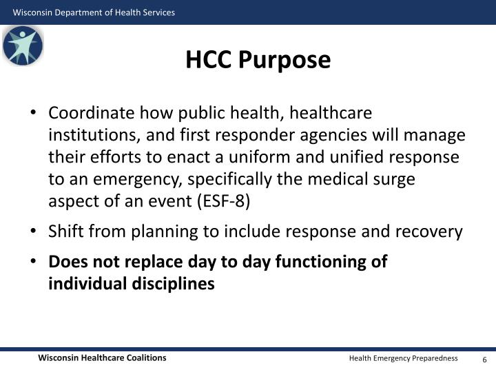 HCC Purpose