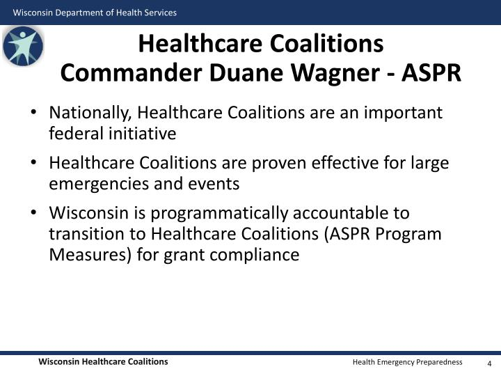 Healthcare Coalitions