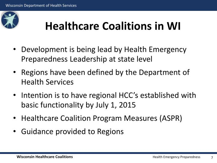 Healthcare Coalitions in WI