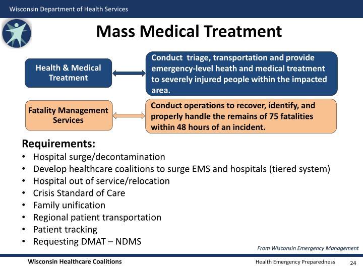 Mass Medical Treatment