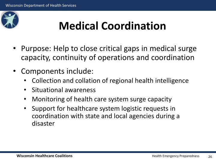 Medical Coordination