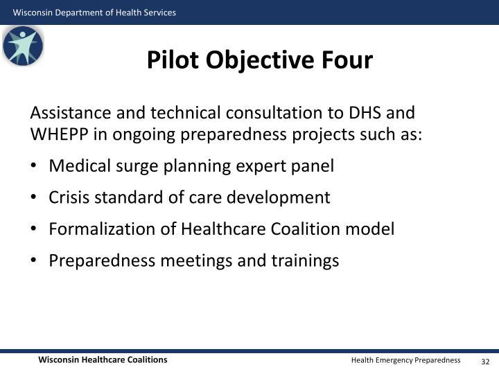 Pilot Objective Four