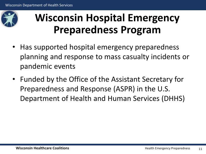 Wisconsin Hospital Emergency Preparedness Program