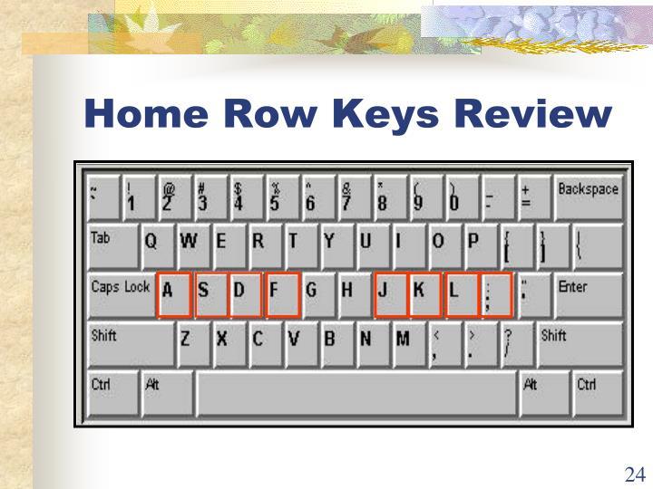Home Row Keys Review