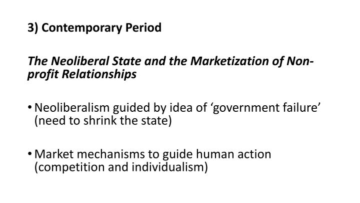 3) Contemporary Period