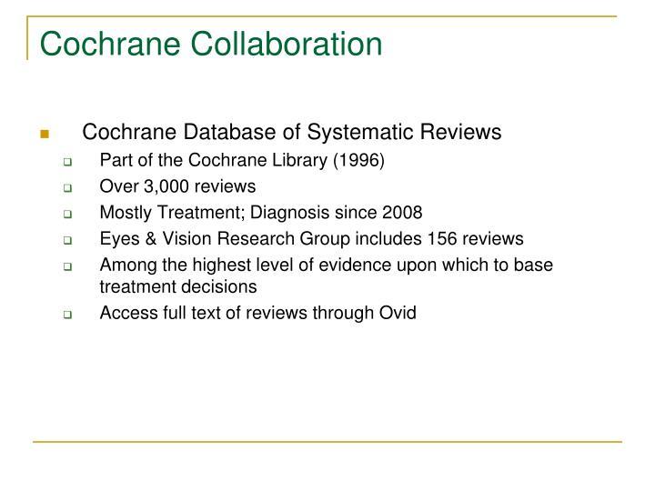 Cochrane Collaboration