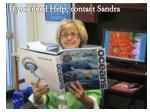 if you need help contact sandra