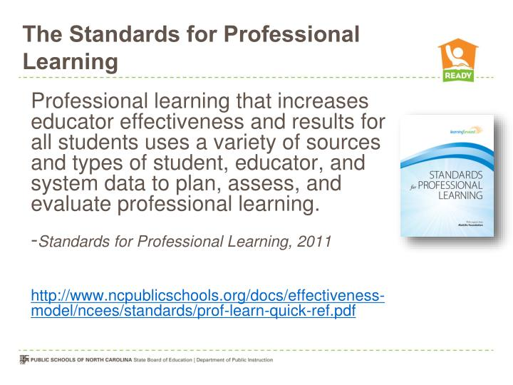 The Standards for Professional Learning