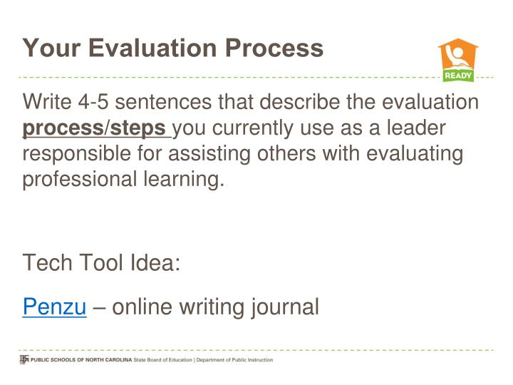 Your Evaluation Process