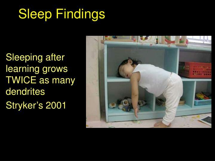 Sleep Findings