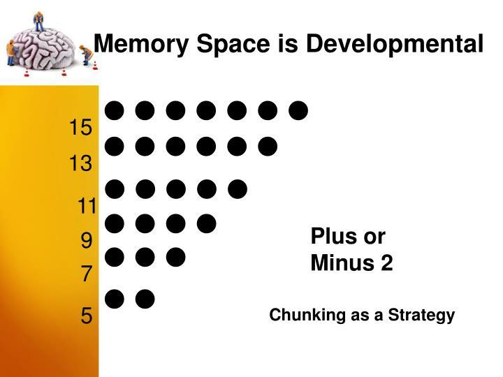 Memory Space is Developmental