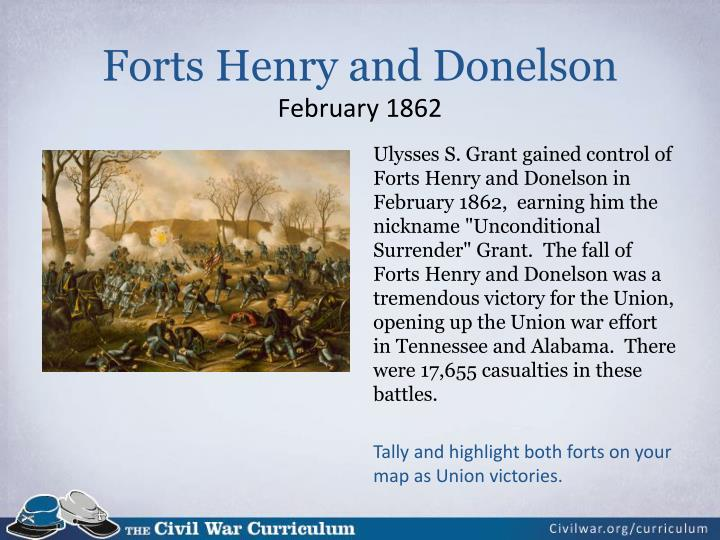 Forts Henry and