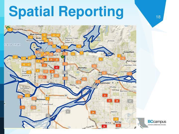 Spatial Reporting