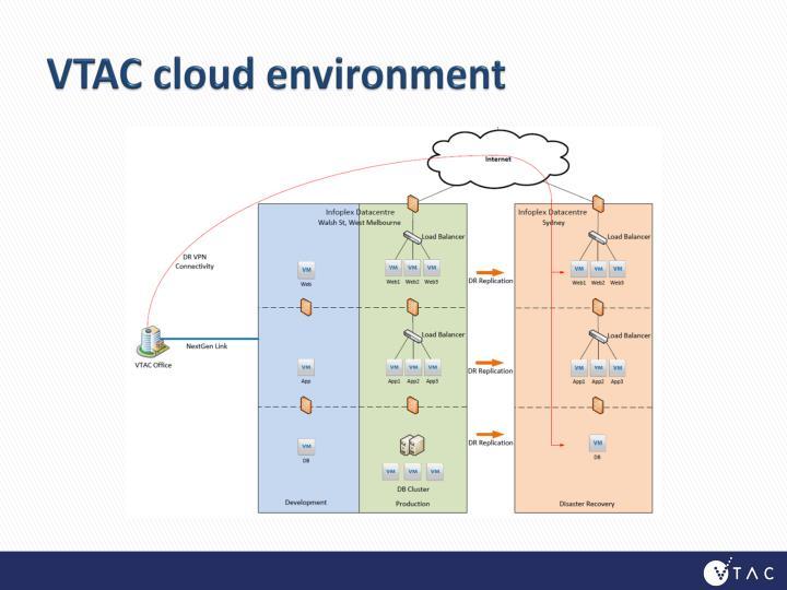VTAC cloud environment