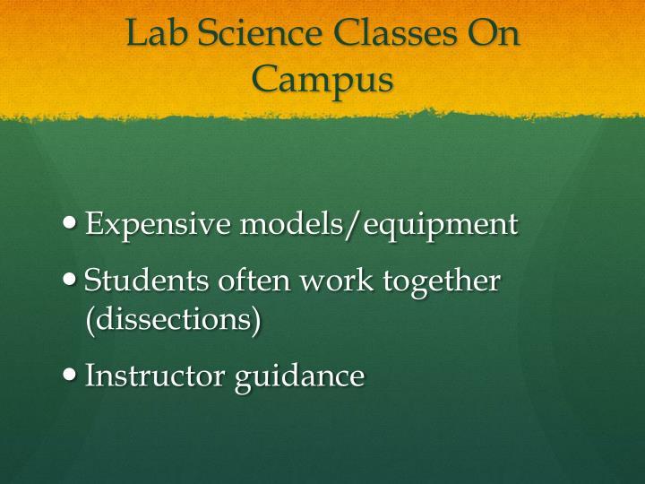 Lab Science Classes