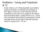 problems young and freedman 8 12