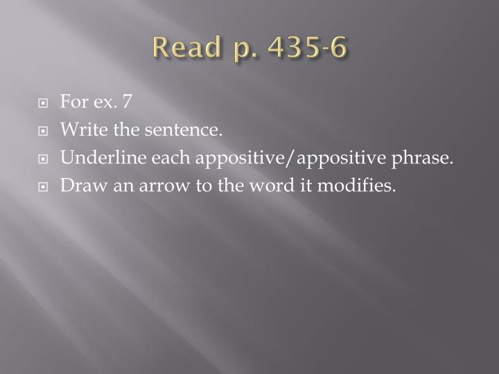Read p.