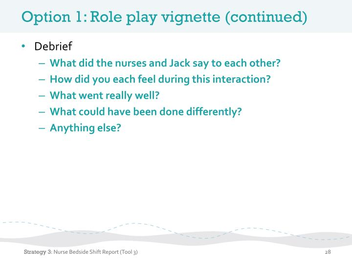 The role of the nurse in health promotion
