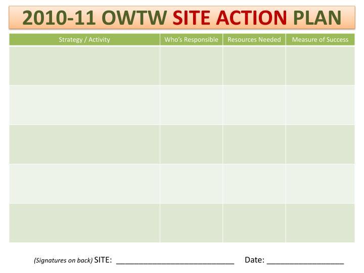 2010-11 OWTW