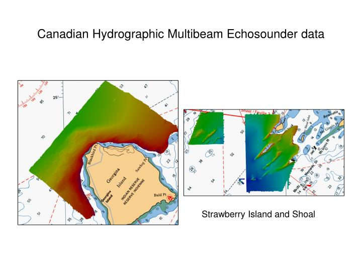 Canadian Hydrographic Multibeam Echosounder data