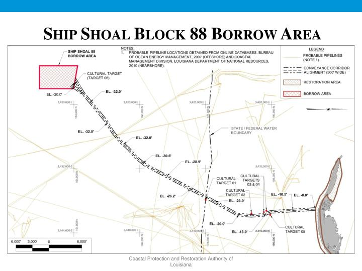 Ship Shoal Block 88 Borrow