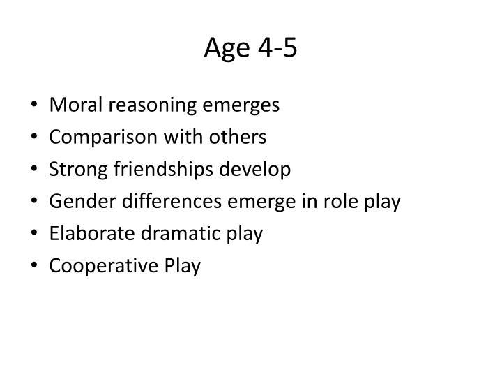Age 4-5