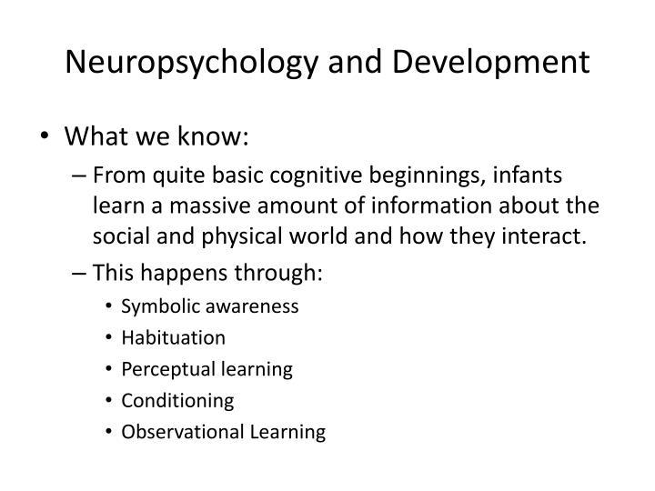 Neuropsychology and Development