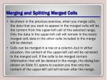 merging and splitting merged cells1