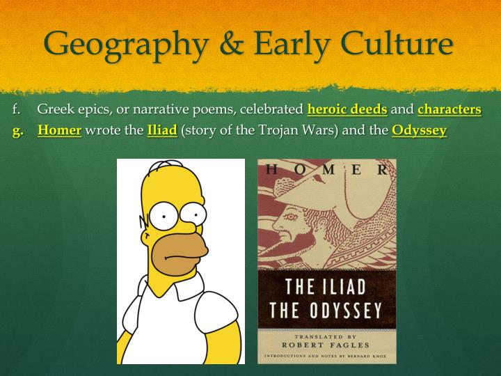 Geography & Early Culture