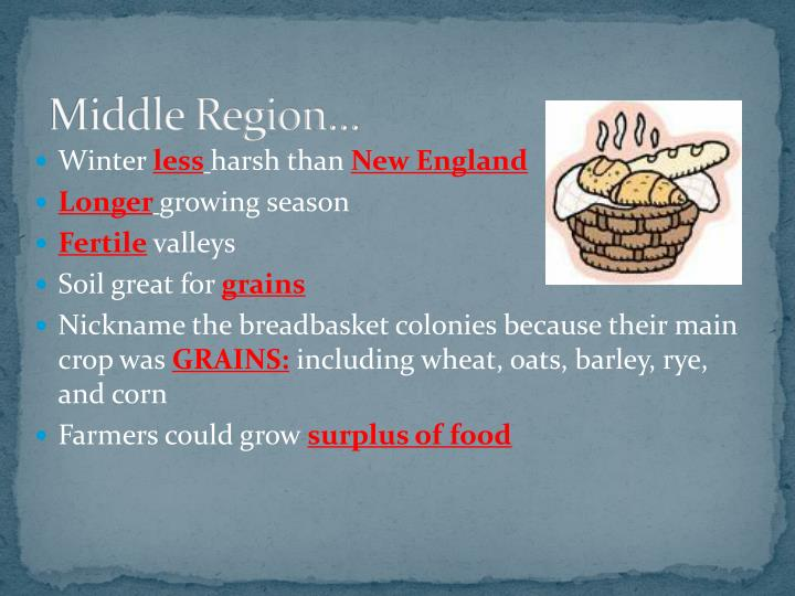 Middle Region…