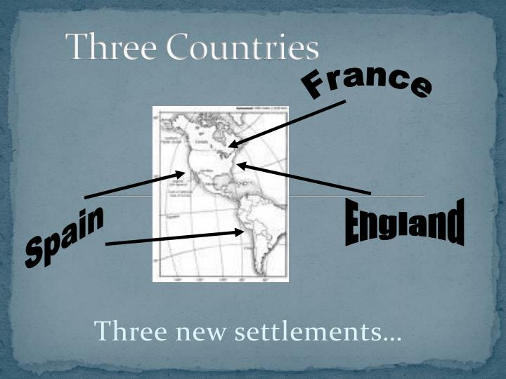 Three Countries