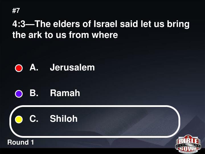 A.  Jerusalem