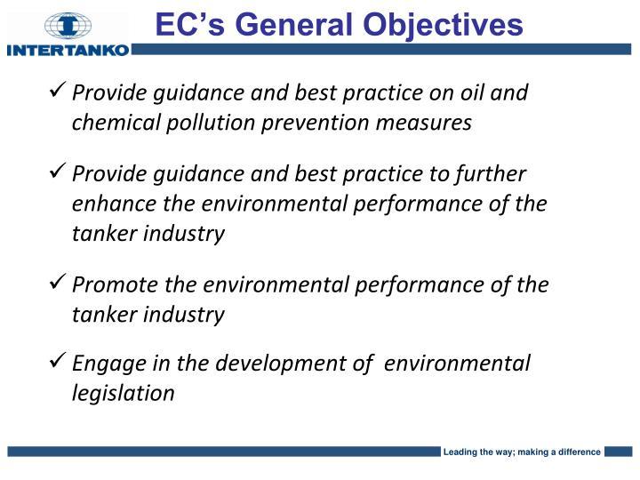 EC's General Objectives