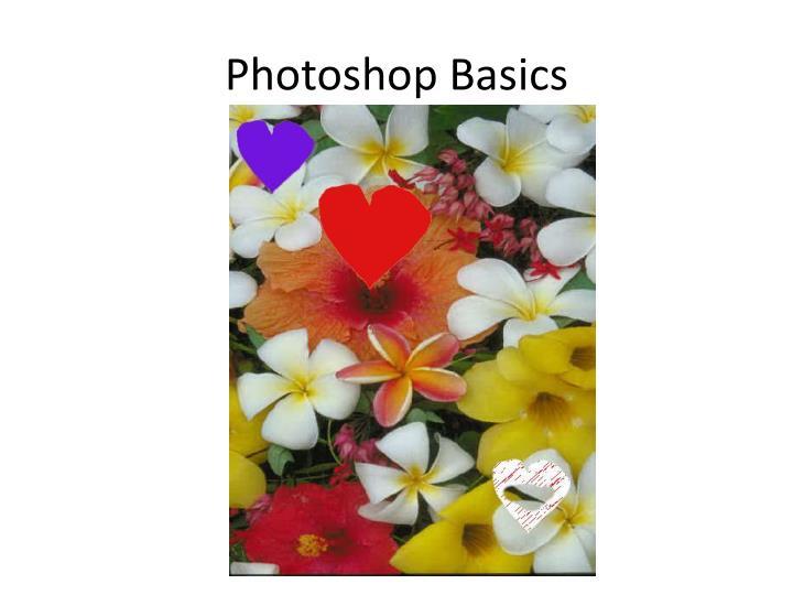 Photoshop Basics