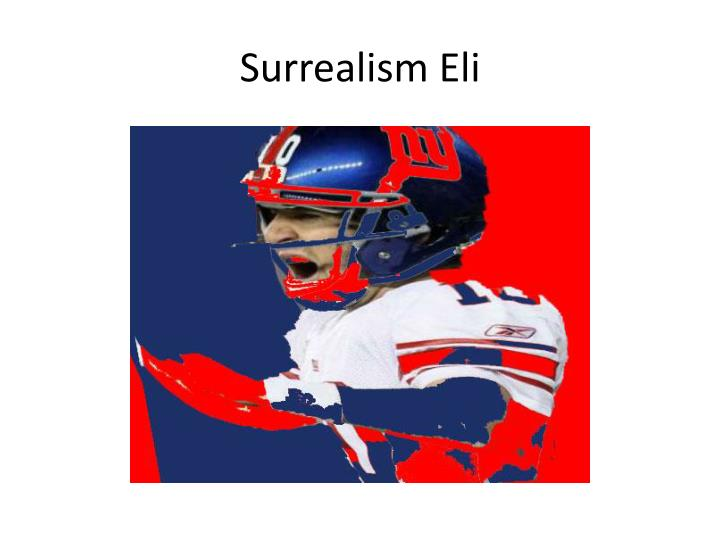 Surrealism Eli