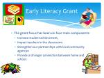 early literacy grant1