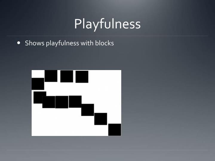 Playfulness