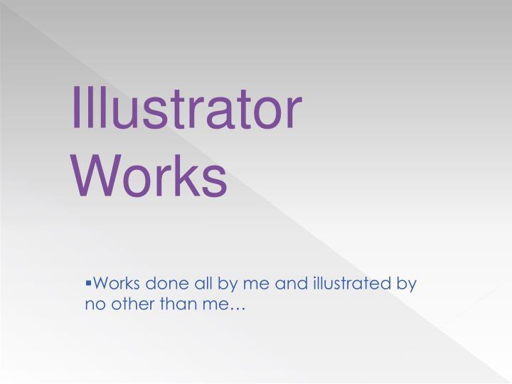 Illustrator Works