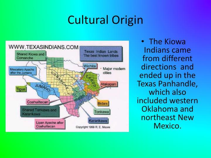 Cultural Origin