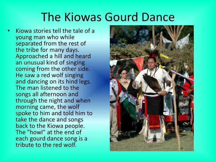 The Kiowas Gourd Dance