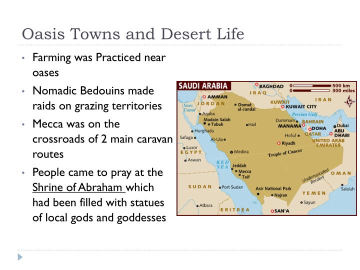 Oasis Towns and Desert Life