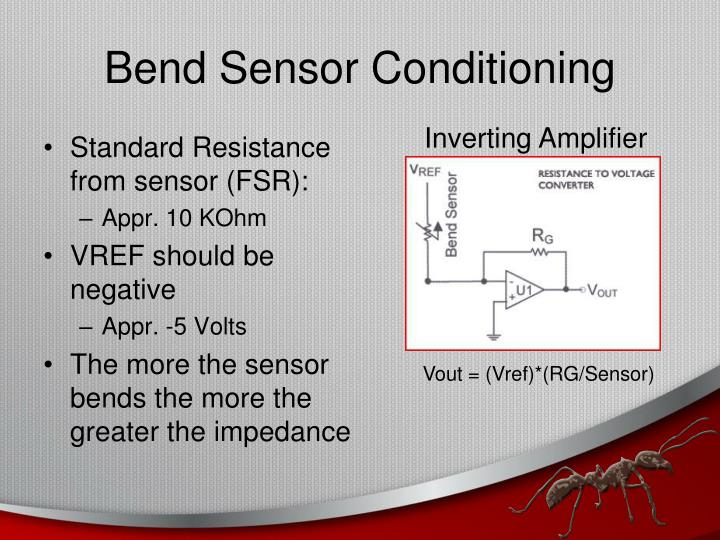 Bend Sensor Conditioning