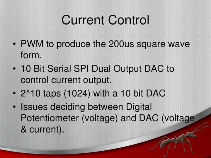 Current Control